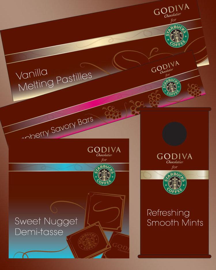 Godiva for Starbucks