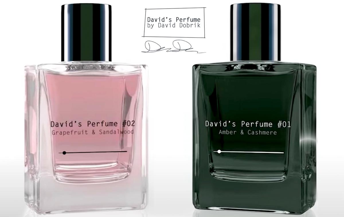 David Dobrik perfumes