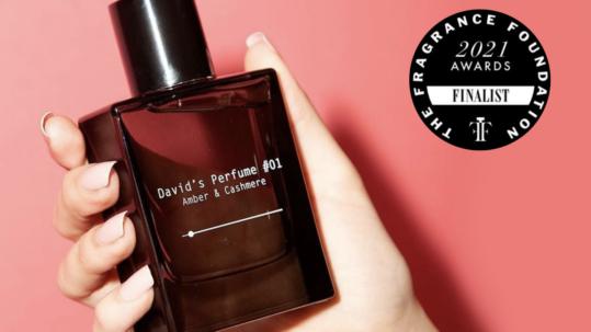 David Dobrik perfumes - FiFi award 2021 nominee
