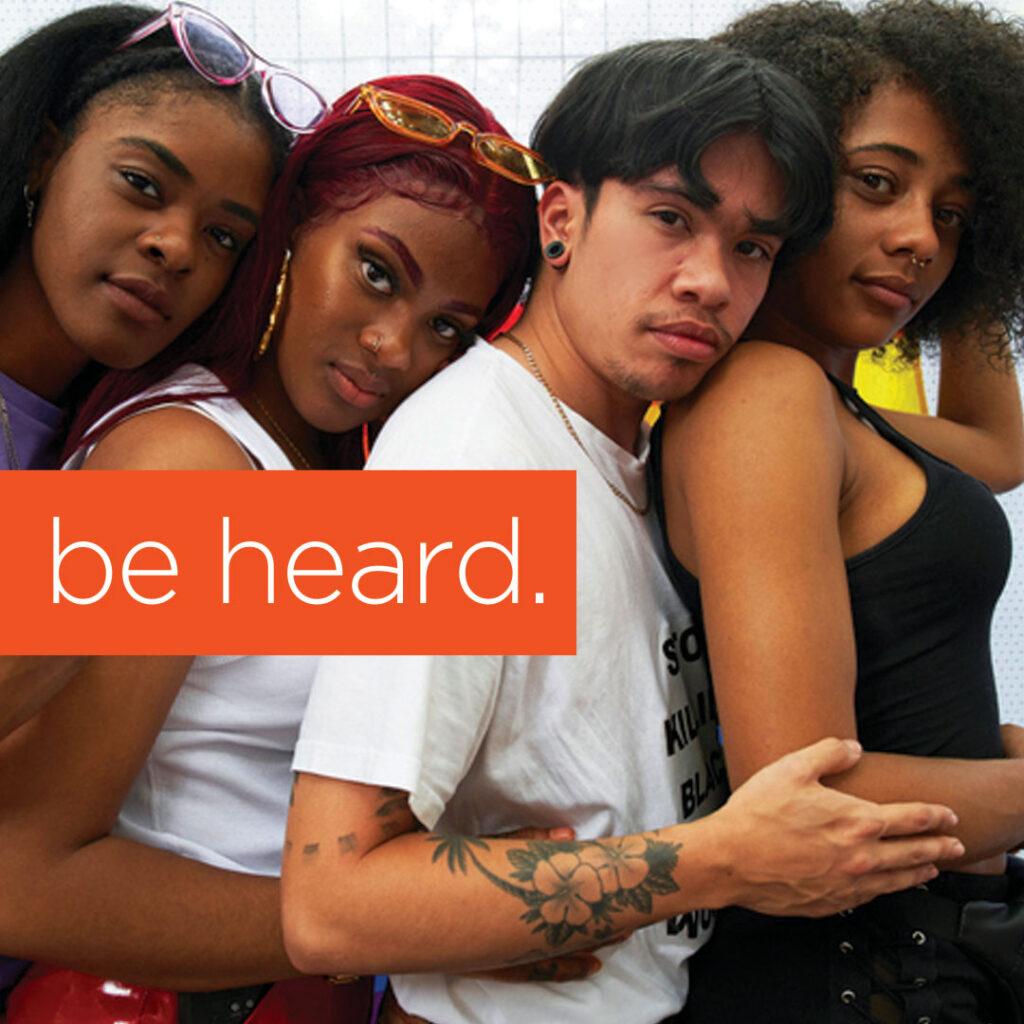 Be Heard group image