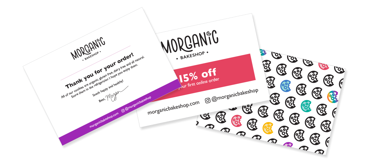 Morganic Bakeshop promotional products
